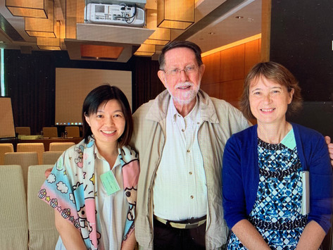 CALHK attends the International Symposium on Teaching Cantonese as a Second Language at CUHK.
