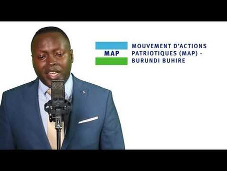 IJAMBO UMUKURU W'UMUHARI MAP-BURUNDI BUHIREYASHIKIRIJE ABARUNDI – ITARIKI YA 25 MYANDAGARO 2019