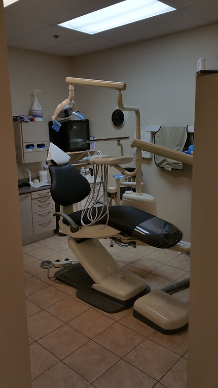 A state of the art dental treatment room at Dentistry on Queenston, Hamilton, ON