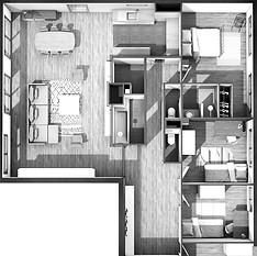 Appartement du Calvaire