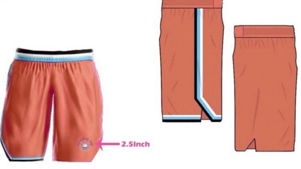 ShePlays Peach Shorts