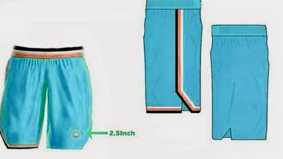 ShePlays Blue Shorts