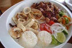 Playa Bonita Garlic Pulpo