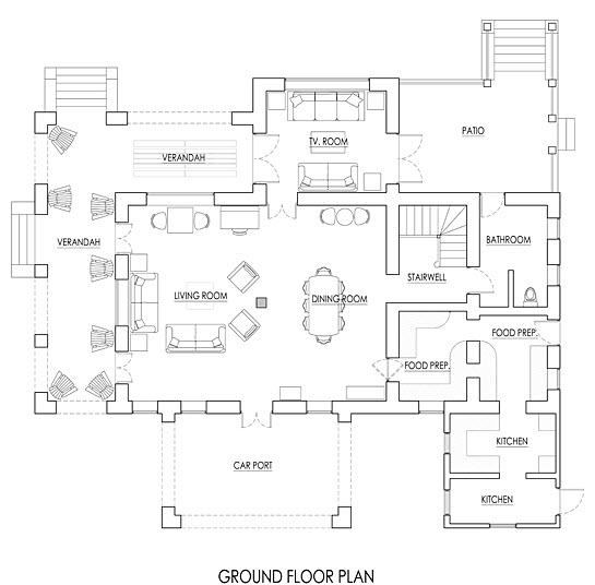 JM236 Ground Floor Plan