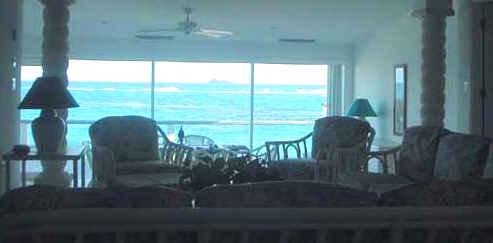 Living Room View Toward St. Barths