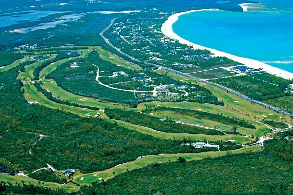 Treasure Cay Golf Course Aerial