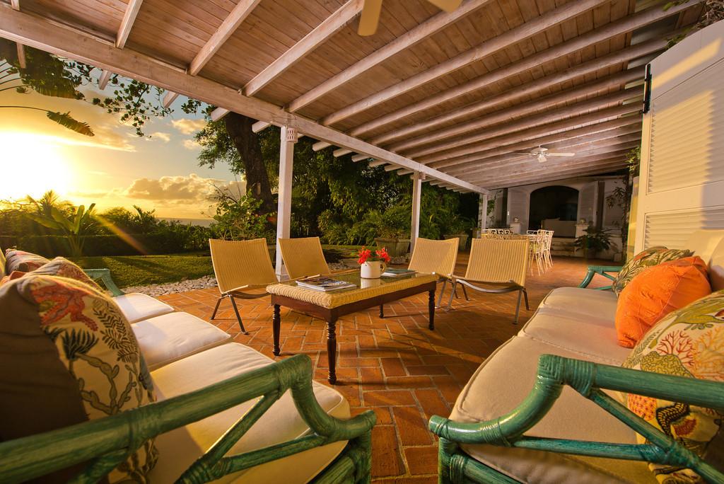 BB416 Sunset on the Verandah
