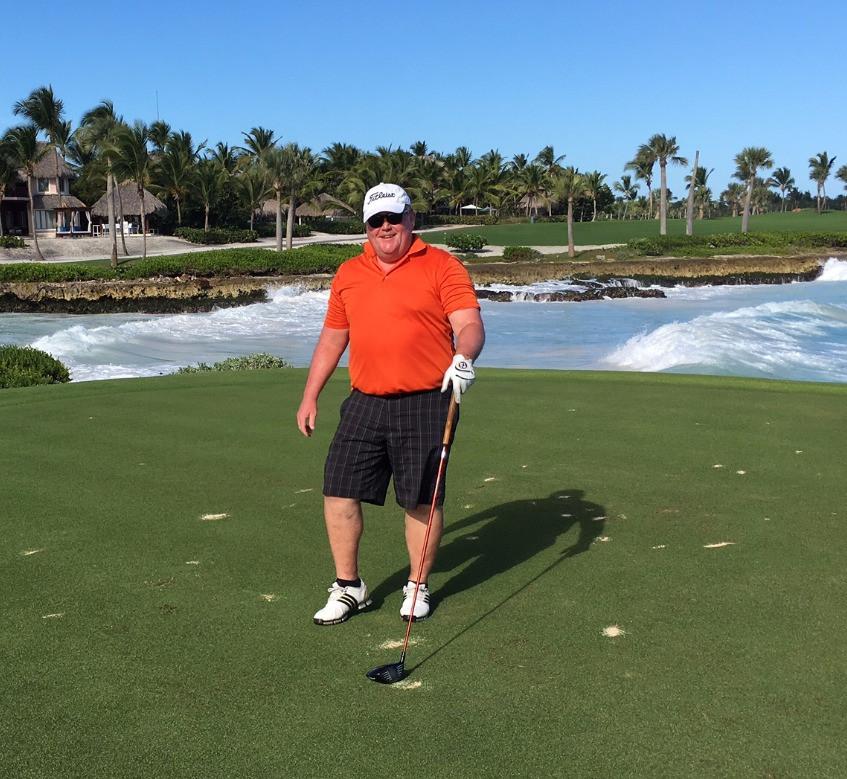Mark Christian at Punta Espada Golf