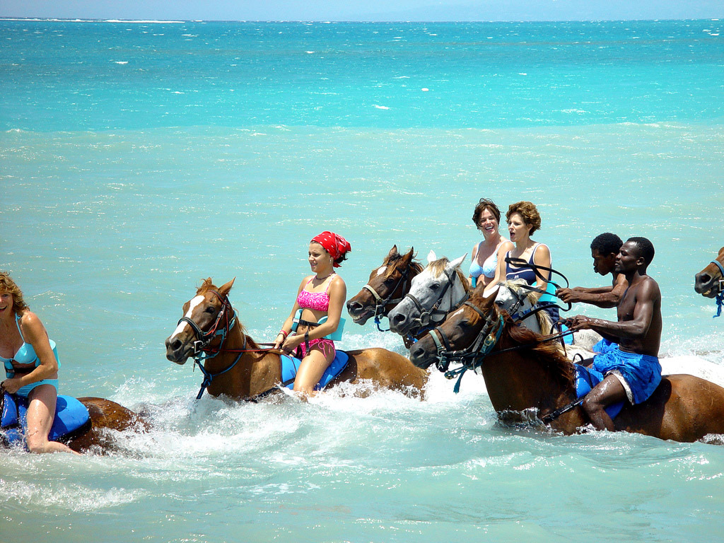 Horseback Riding on Jamaica