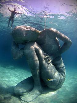 Bahamanian Girl Sculpture
