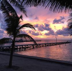 BL105 Sunrise Over Pier