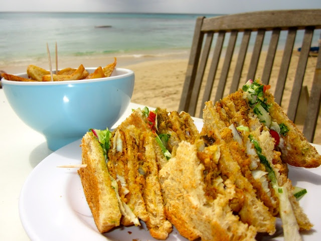 Barbados Flying Fish Sandwich