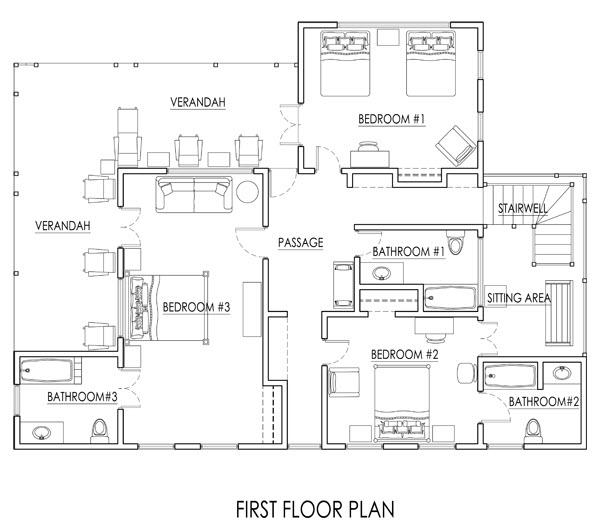 JM236 First Floor Plan