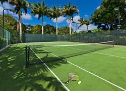 BB366 Private Tennis Court