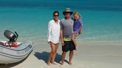 Skelton Family, Treasure Cay
