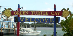 Green Turtle Cay Sign