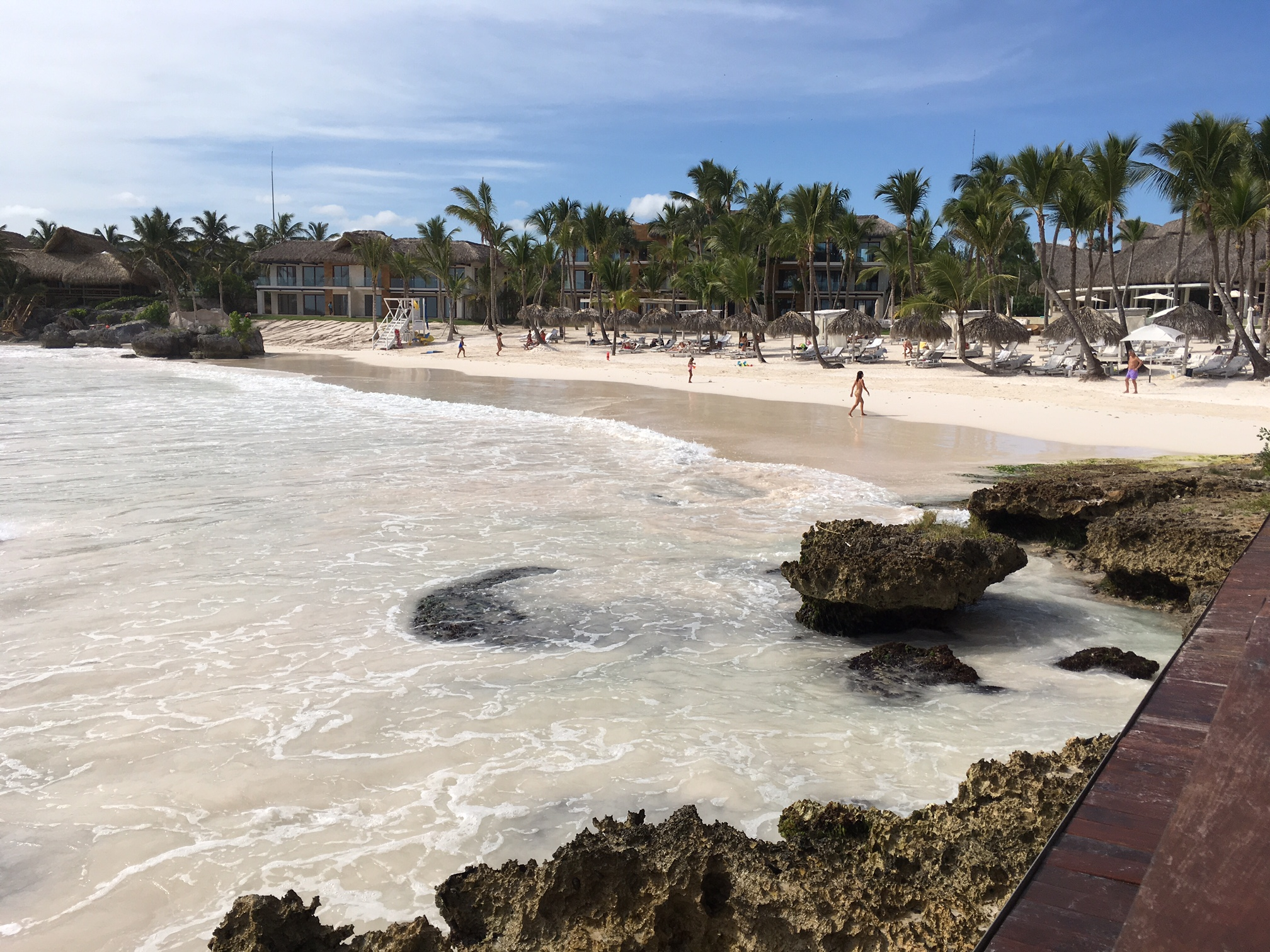 Beach from La Palapa Restaurant