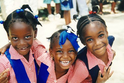 Jamaican School Children