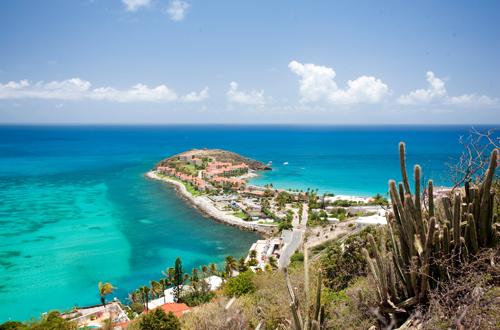 Sint Maarten View from Hilltop