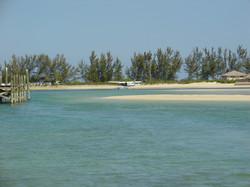 Seaplane at Private Island, Bahamas