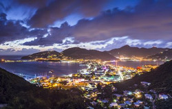 Sint Maarten at Night