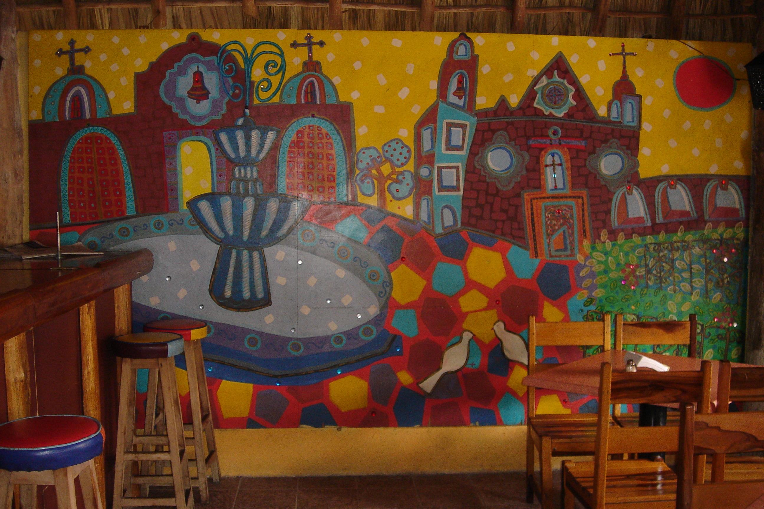 La Choza Mural