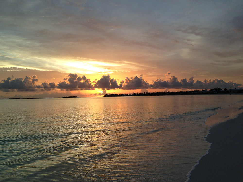 Treasure Cay Beach Sunset