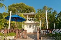 BB342 Villa (Lower) From Beach