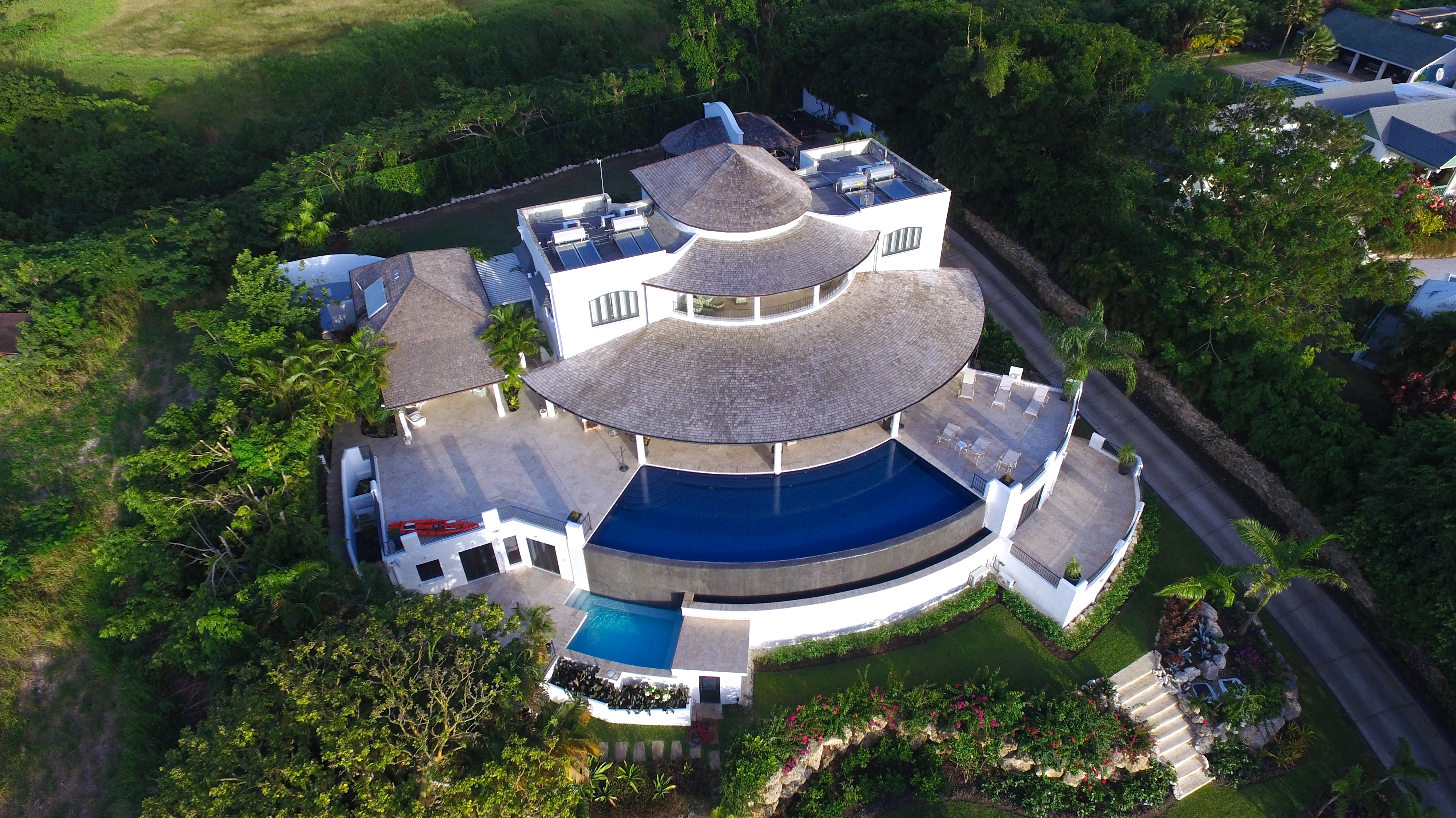 BB528 Aerial View of Villa