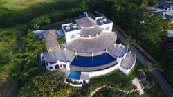 BB528 Aerial View of Villa