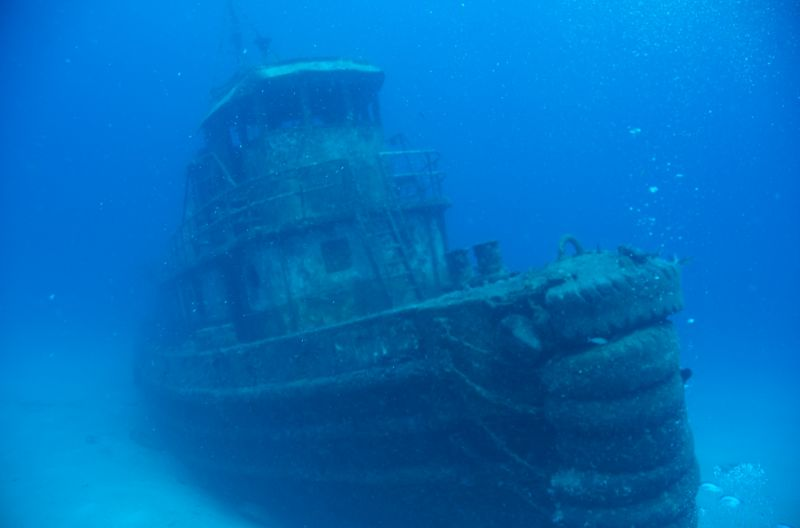 BVIs - Wreck divers paradise