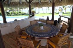 DR300 Pool Cabana Seating