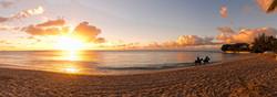 BB342 Sunset on Beach