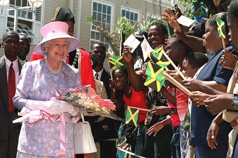 Queen Elizabeth Visits Jamaica