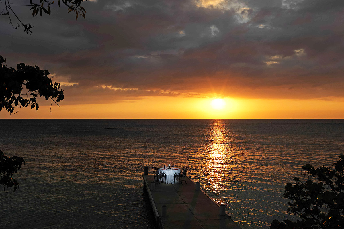 JM236 Sunset Over Pier