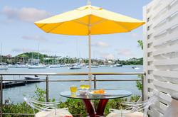 SM391 Deck Overlooking Marina