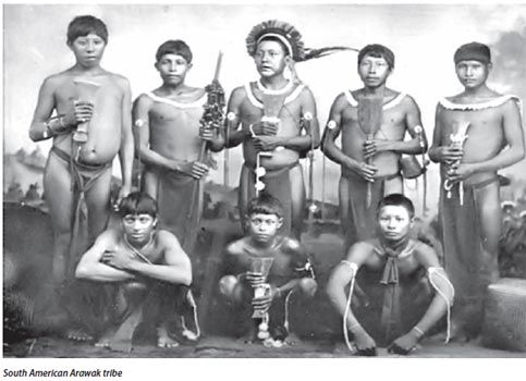 Puerto Rican Taino Indians