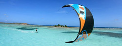 Kitesurfing - Green Island, Antigua