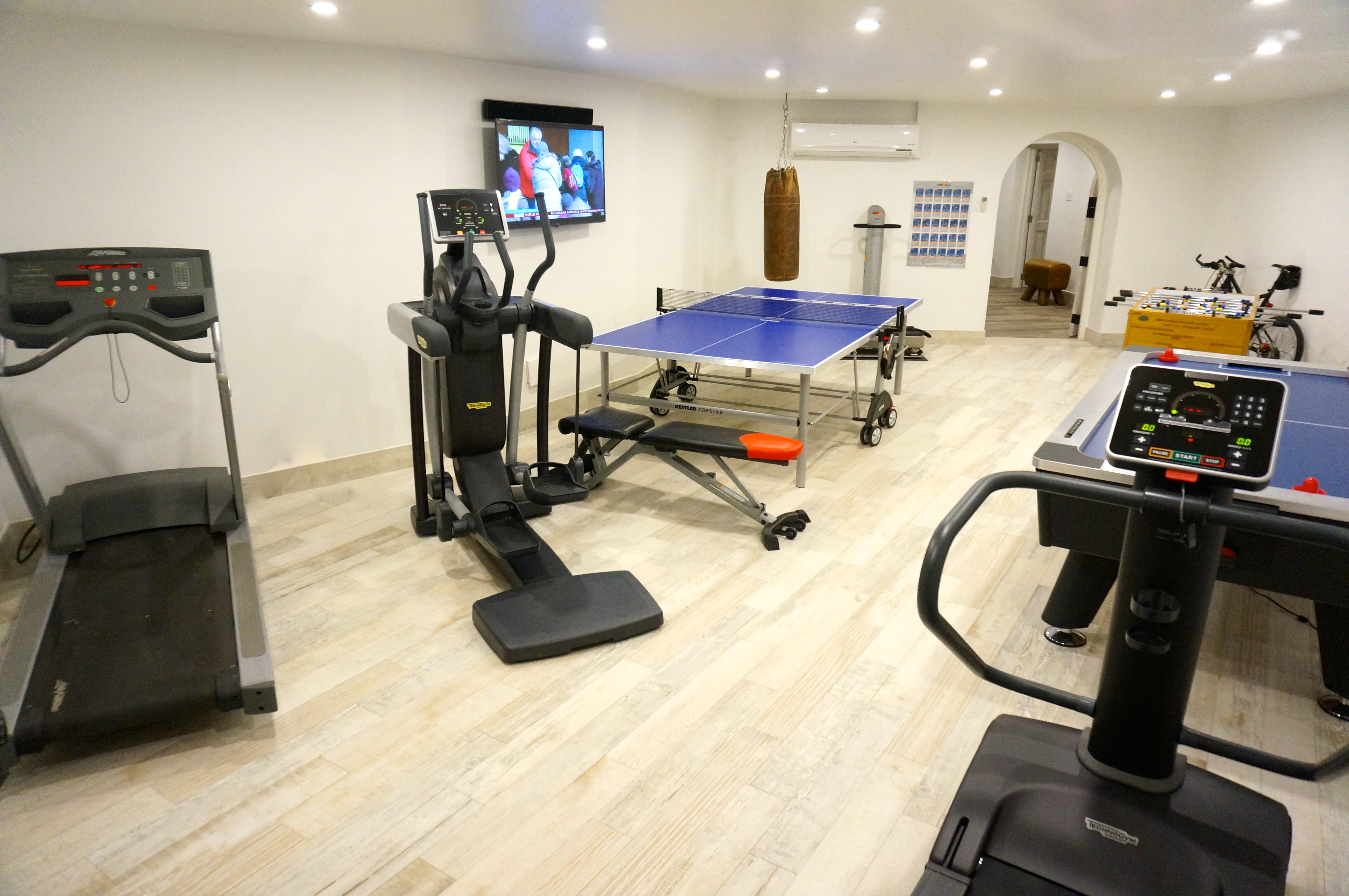 BB528 Games and Exercise Room