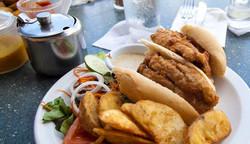 Flying Fish Sandwich