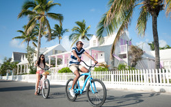 Bicycling in The Bahamas