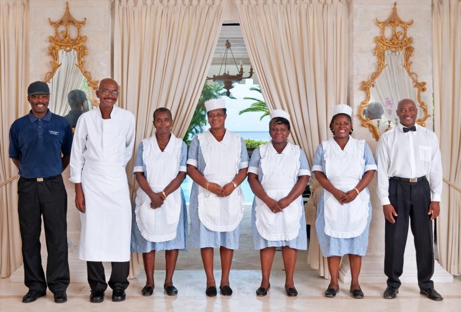 BB100 Exceptional Villa Staff
