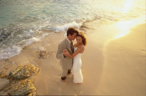 Sint Maarten Beach Wedding
