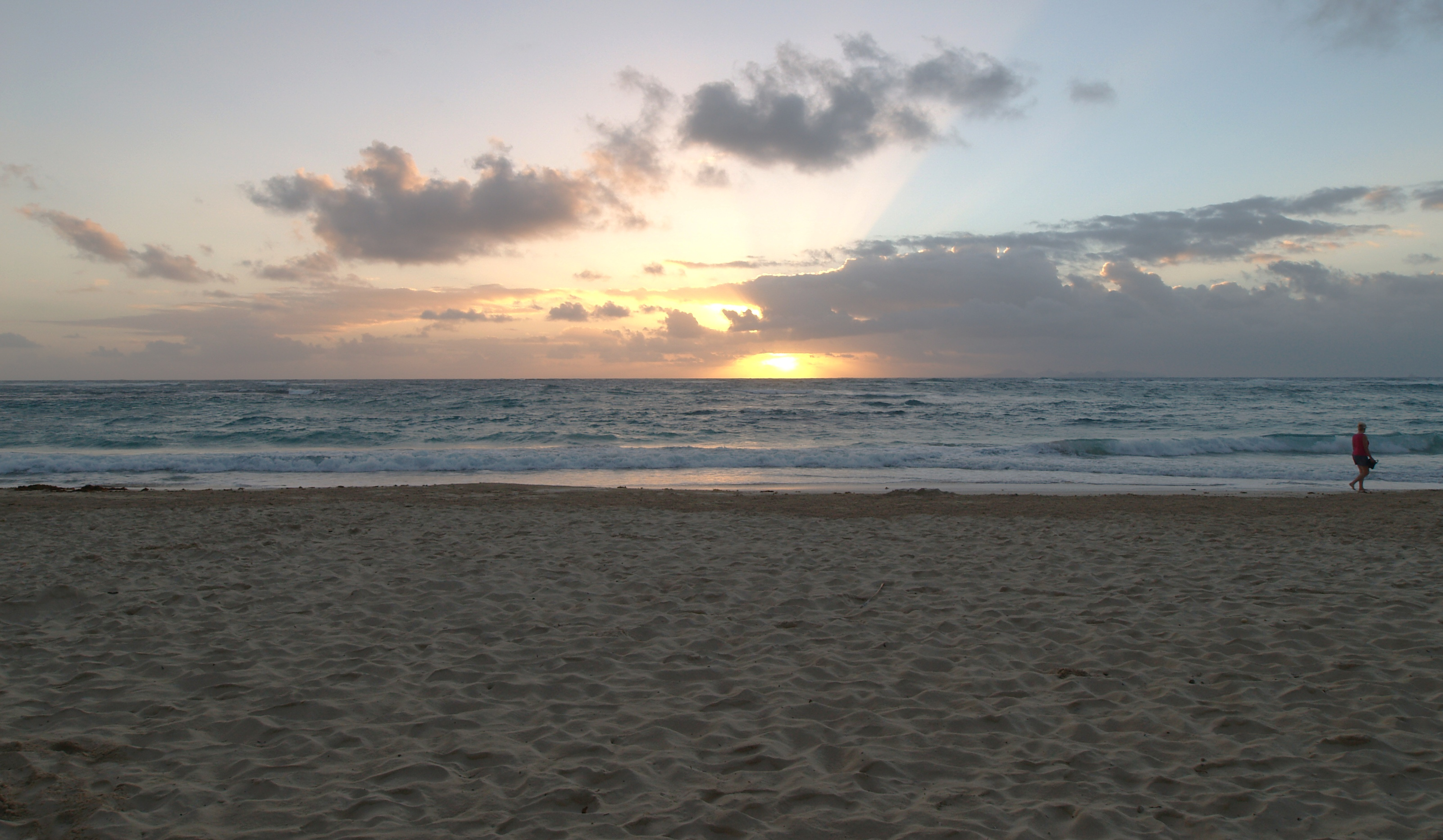 Dawn Beach Sunrise