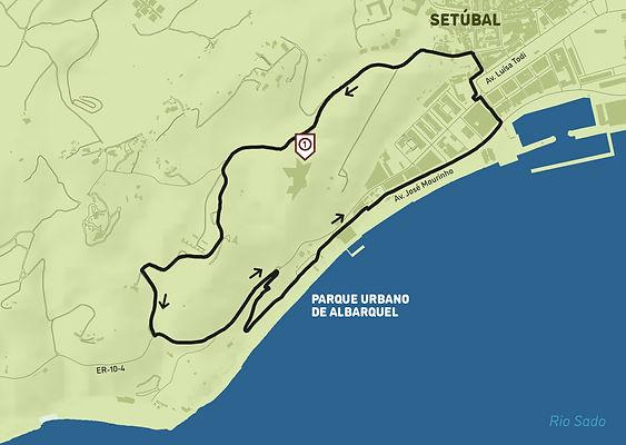 Arrábida Walking Trails | Mapa PR1 | Encostas de São Filipe