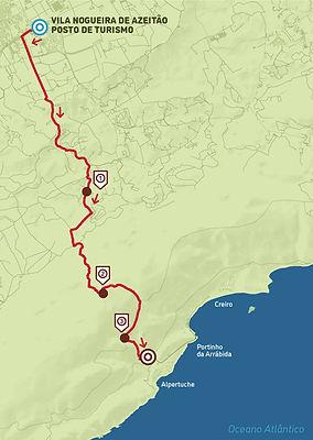 Arrábida Walking Trails | Mapa PR2 | Alto do Formosinho