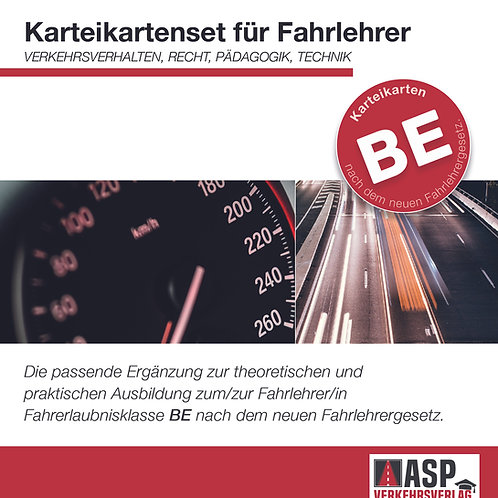Karteikarten Fahrlehrer BE - Basic