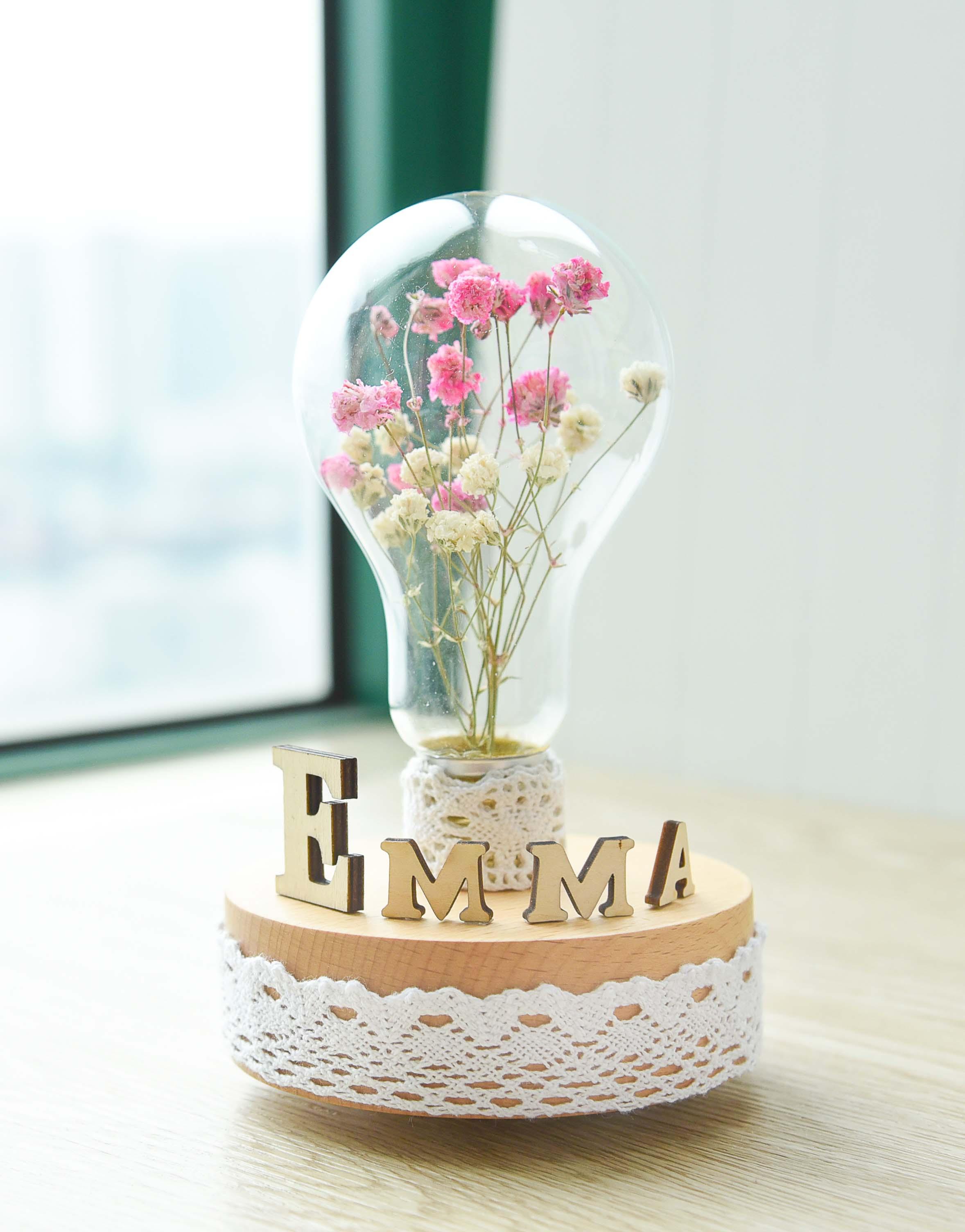 Flower Music Box