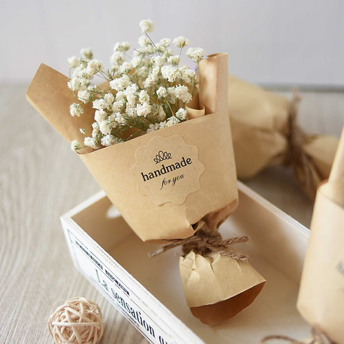Dried Baby's Breath Posy 滿天星乾花