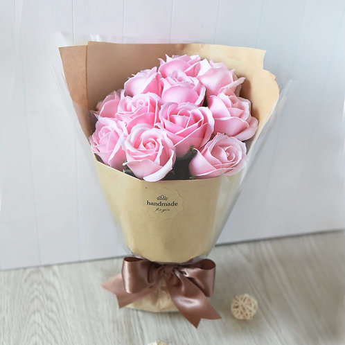 Handmade Soap Rose 手造肥皂玫瑰-粉紅